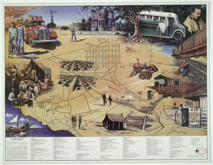 Molly Maguire: The John Steinbeck Map of America
