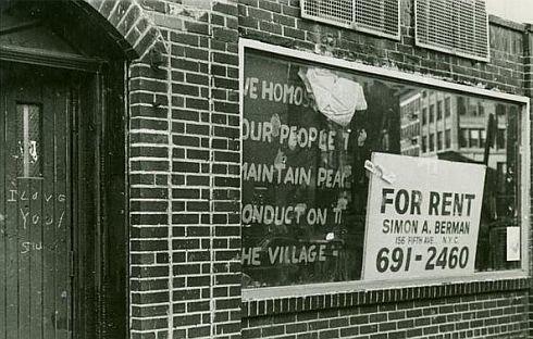 Billede: Stonewall In efter opstanden i 1969