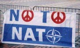 Fredsbanner mod NATO
