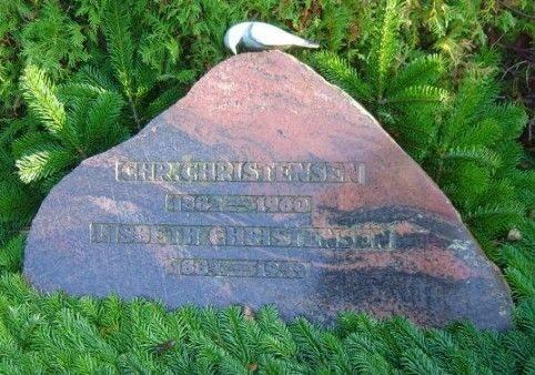 Chr. Christensens grav