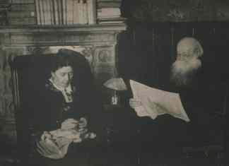 P.A.Kropotkin and his wife Sophia Grigorievna in their Dmitrov house