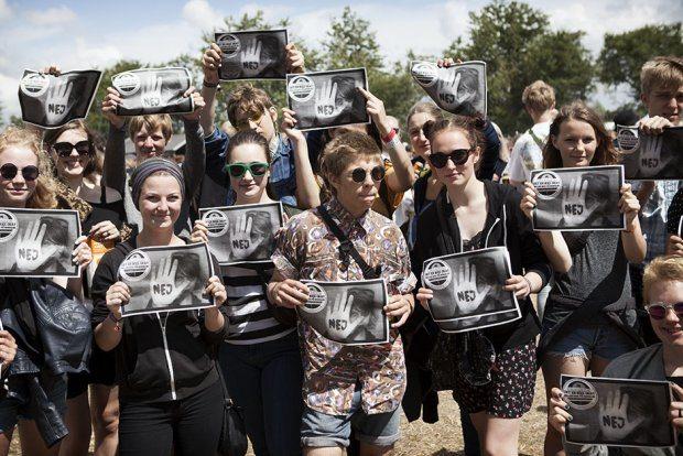 Roskilde demo. Foto: Mark Knudsen/Monsun