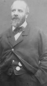 Eugène Pottier fotograferet mellem 1870 og 1875. Public Domain