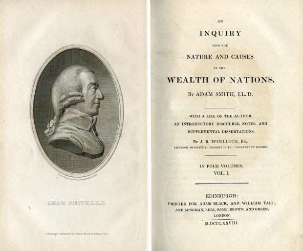 Adam Smith: Wealth of Nations (1723)