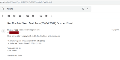 Buy Football Fixed Matches
