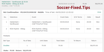 FIXED MATCHES HT FT, sure picks today, winning tips
