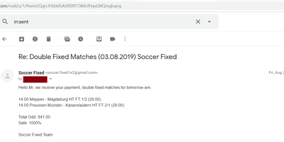 best fixed matches tips
