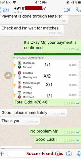 Free fixed match 30 odds Blogger