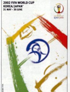 2002W杯 オフィシャルポスター