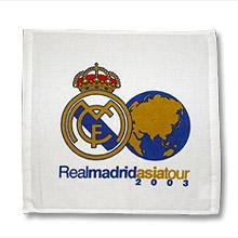 REAL Madridハンドタオル