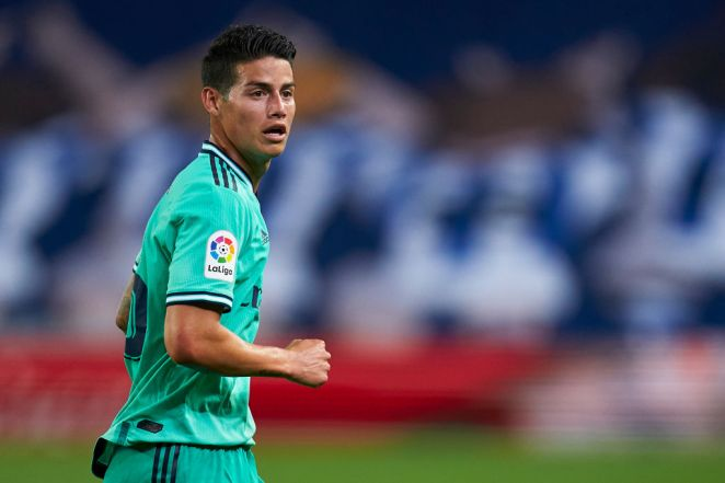 James Rodriguez to Manchester United