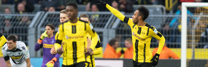 Soccer 360 Magazine aubameyang-01 DORTMUND UNHAPPY WITH AUBEMEYANG OVER EXIT COMMENTS