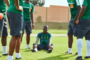 MHD and Cameroon squad 2