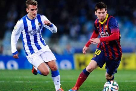 Griezmann at Real Sociedad