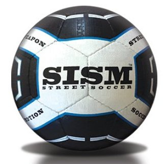 SISM Street Weapon - Pro Street Soccer Ball