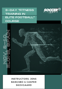 3-day Fitness Training in Elite Football course in Elche