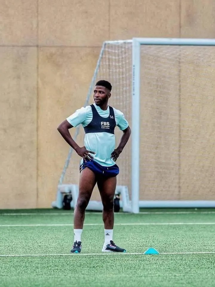 Amunike told Kelechi Iheanacho tricks to earn Leicester City first team Jersey
