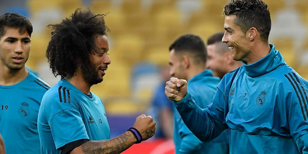 Marcelo Ucapkan Pesan Perpisahan Yang Emosional Kepada Ronaldo
