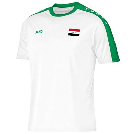 5fd7afcc9ea Iraq Asian Cup 2019 White Jersey - Soccer Iraq