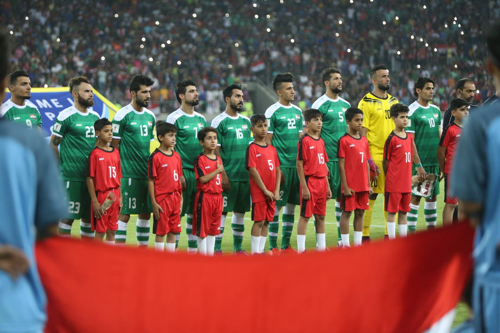 Iraq squad announced for Japan