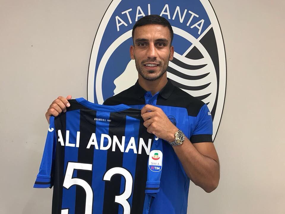 Ali Adnan signs for Atalanta on a one-year loan deal