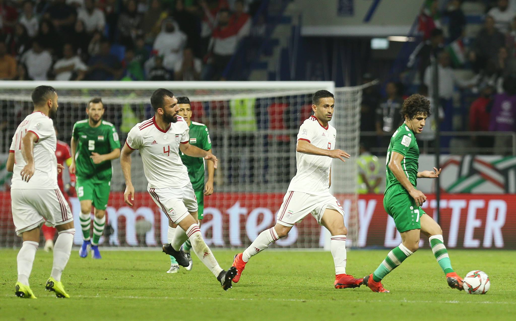 Iran v Iraq derby ends in stalemate as Lions finish second in Asian Cup Group D