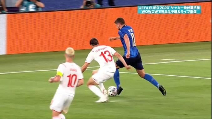 2 - 好調を維持するイタリア代表。サッスオーロに所属するMFロカテッリの2ゴールにより16強入りを決める