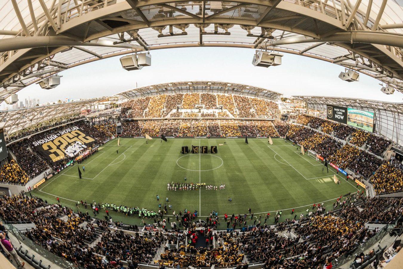 Image result for banc of california stadium photos