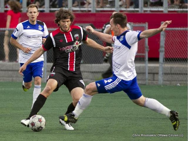 Tom Heinemann, Ottawa Fury vs FC Edmonton