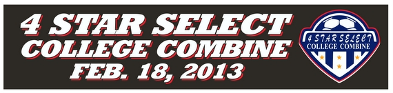 4 Star Select College Combine Banner 12-016