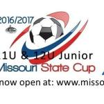 Missouri Soccer Cup Registration Opens, Junior Cup Introduced