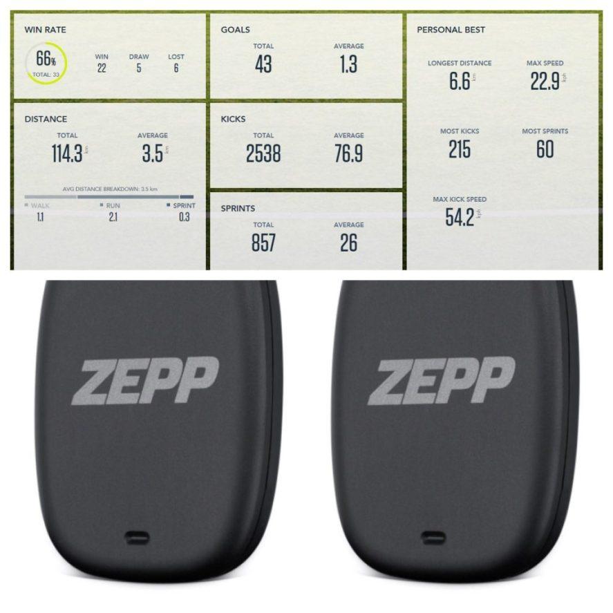 Zepp Soccer Tracker