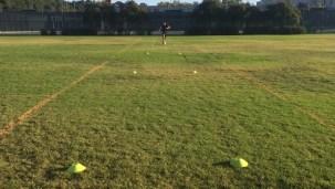 Soccer Lane Dribbling Drill