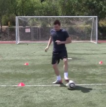 Soccer Shielding Drills