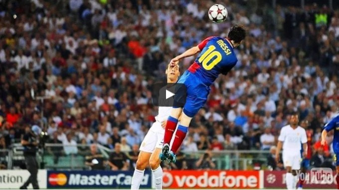 Lionel Messi Sucks Headers