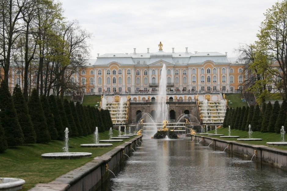 (5) Le Palais de Peterhof -Audouin Dubreuil