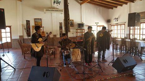 Groupe de musique Andine _ Photo de Ruffine