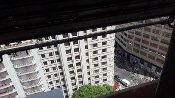 Nous étions dans un hôtel gratte-ciel ; vue du 17ème étage _ Photo de Rémy