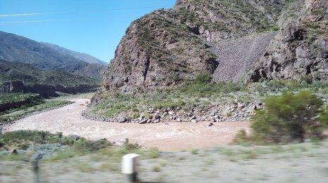 Rio de Mendoza : Rafting sur le fleuve _ Photo de Rémy