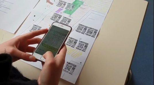 """""""New-York, ville mondiale"""" : réalisation d'un schéma collaboratif et augmenté avec Mirage Make ©M. Vitrac"""
