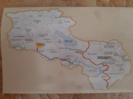 L'Arménie y inclus la République autonome d'Artsakh autoproclamée et non reconnue internationalement.