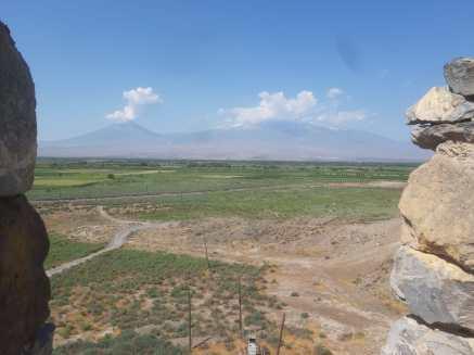 Le Mont Ararat emblème de l'Arménie, + de 5.000 mètres d'altitude