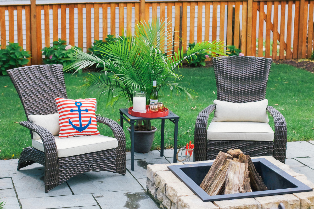 Update Patio With Kmart