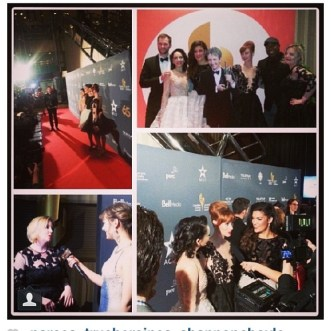 A few red carpet pics courtesy of Clutch PR