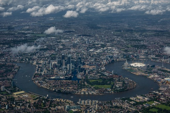 Over London - Challenges below