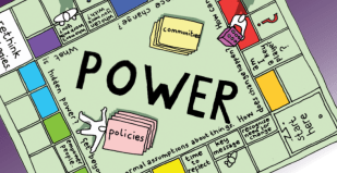 Power Boardgame - Facilitating Social Change - by The Carnegie Trust