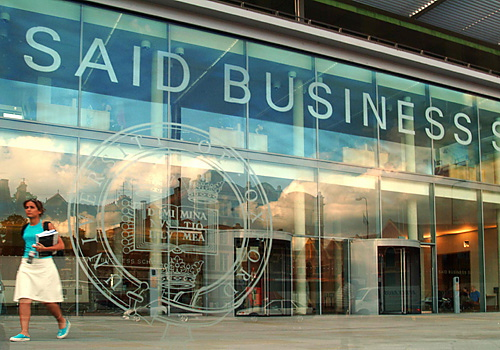 Oxford University: Said Business School Q&A