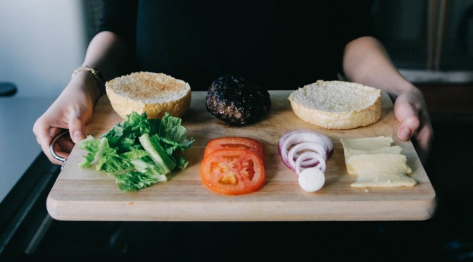 Tray of food - a metaphor for a portfolio of prototypes