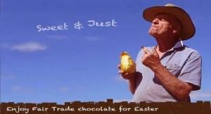 fair trade Easter egg poster