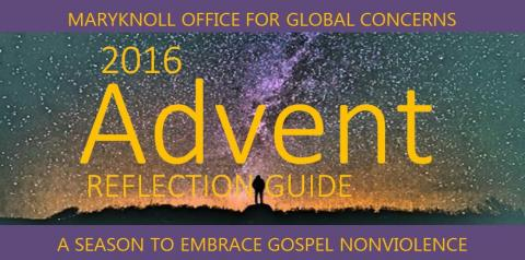 Gospel Nonviolence Reflection Guide Advent 2016